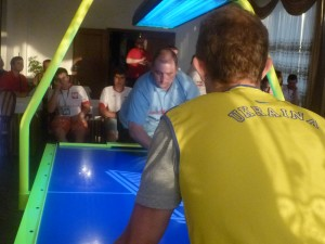 Air-hockey na MS Multitable 2012