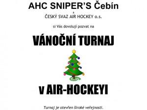 Pozvánka – turnaj Čebín, 28.12.2014