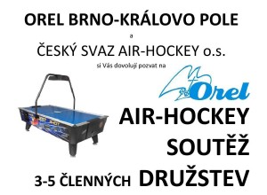 Pozvánka – turnaj družstev, Brno 20.01.2015