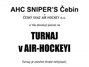 Pozvánka – turnaj Čebín, 19.04.2015